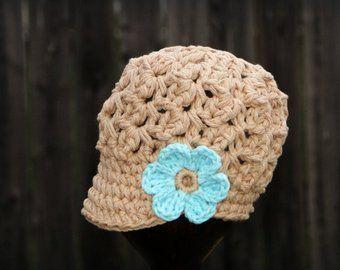 Crochet Baby Hat Kids Hat Crochet Newsboy Hat Hat For Girls