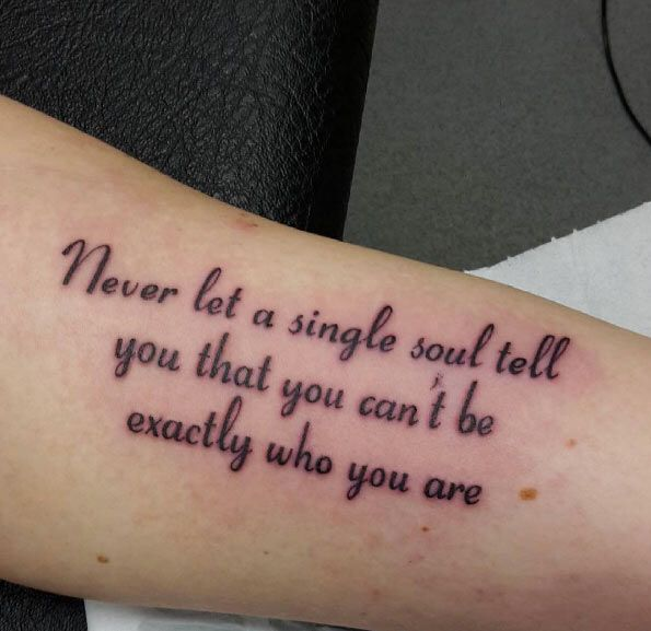 Always Stay True To Yourself Tatted Ideas Pinterest Tattoo