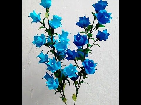 Paper flowers campanula canterbury bells bell flower youtube paper flowers campanula canterbury bells bell flower youtube mightylinksfo