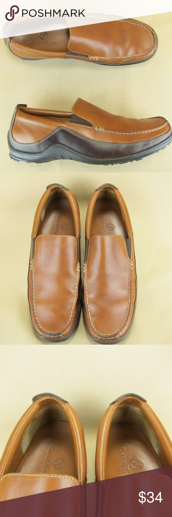 Cole Haan Driving Loafer Apron Toe