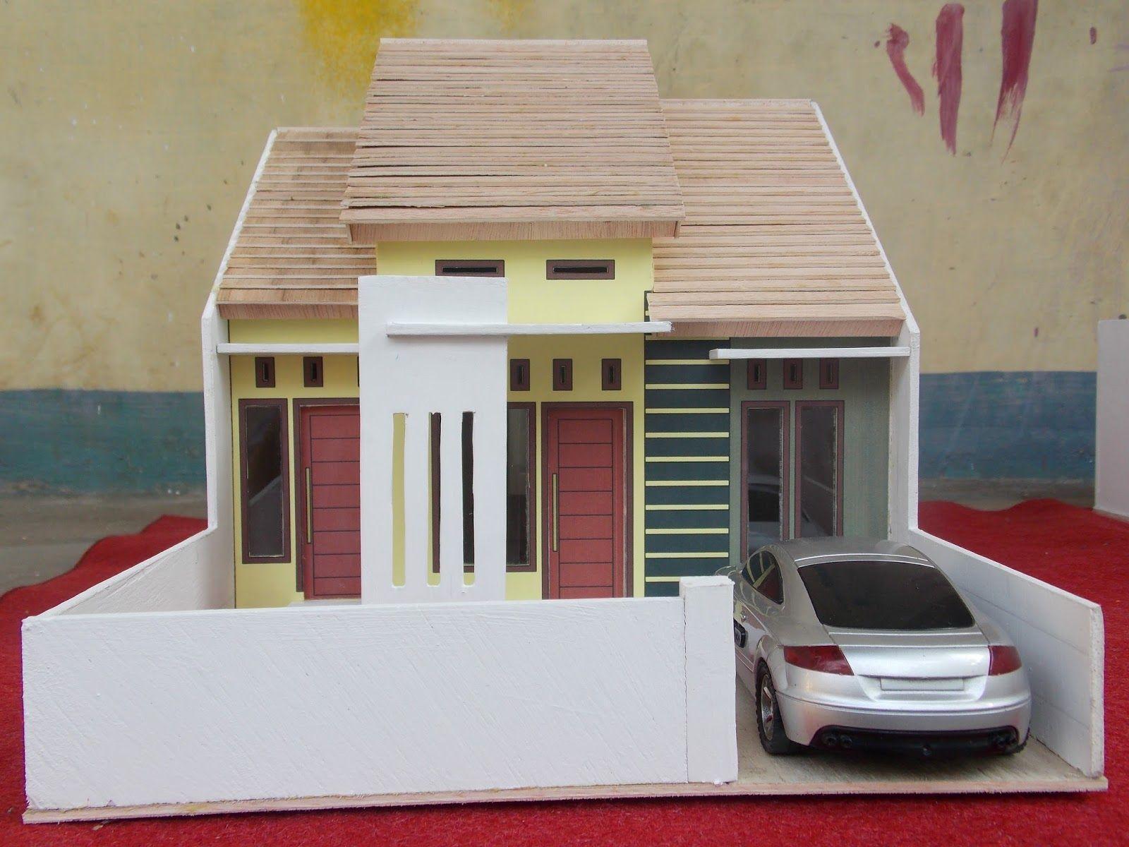 Hasil Gambar Untuk Cara Membuat Rumah Dari Kardus Rumah Modern