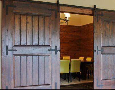 Herrajes puertas portones pinterest puertas de for Herrajes para puertas corredizas