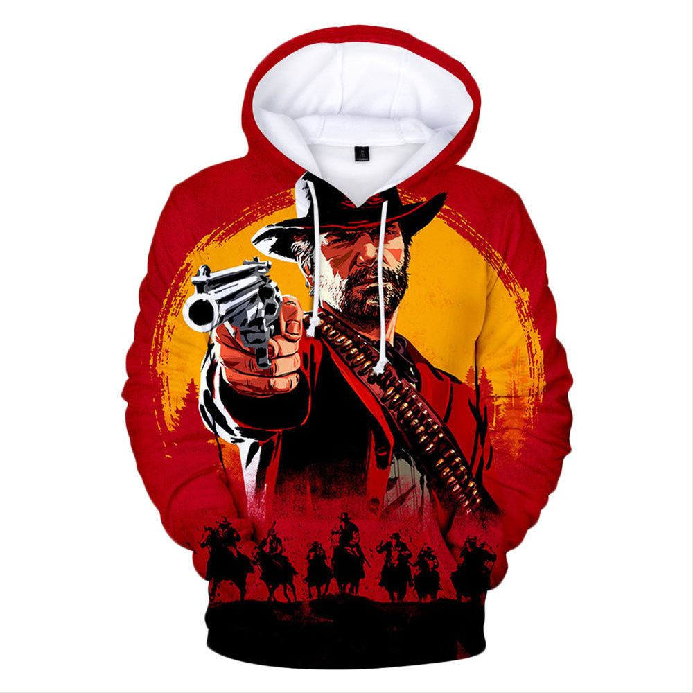 Realistic Movie Stephen Kings It Penny Wise Clown Print 3d Hoodie Men Hooded Sweatshirts Sudadera Hombre Boys Pullover Tracksuit Jacket Beautiful In Colour Hoodies & Sweatshirts