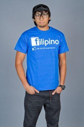 69e71482 FILIPINO SHIRT: FILIPINO FB PARODY BY TAGLISH TEES -- This parody of a  famous social network logo is guaranteed to get you alot of laughs.