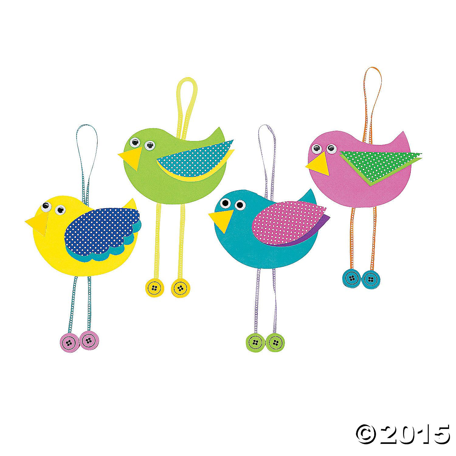 Bright and cheery birds are perfect springtime companions! Hang them up in any room to give your house a beautiful springtime feel. Includes self-adhesive ...