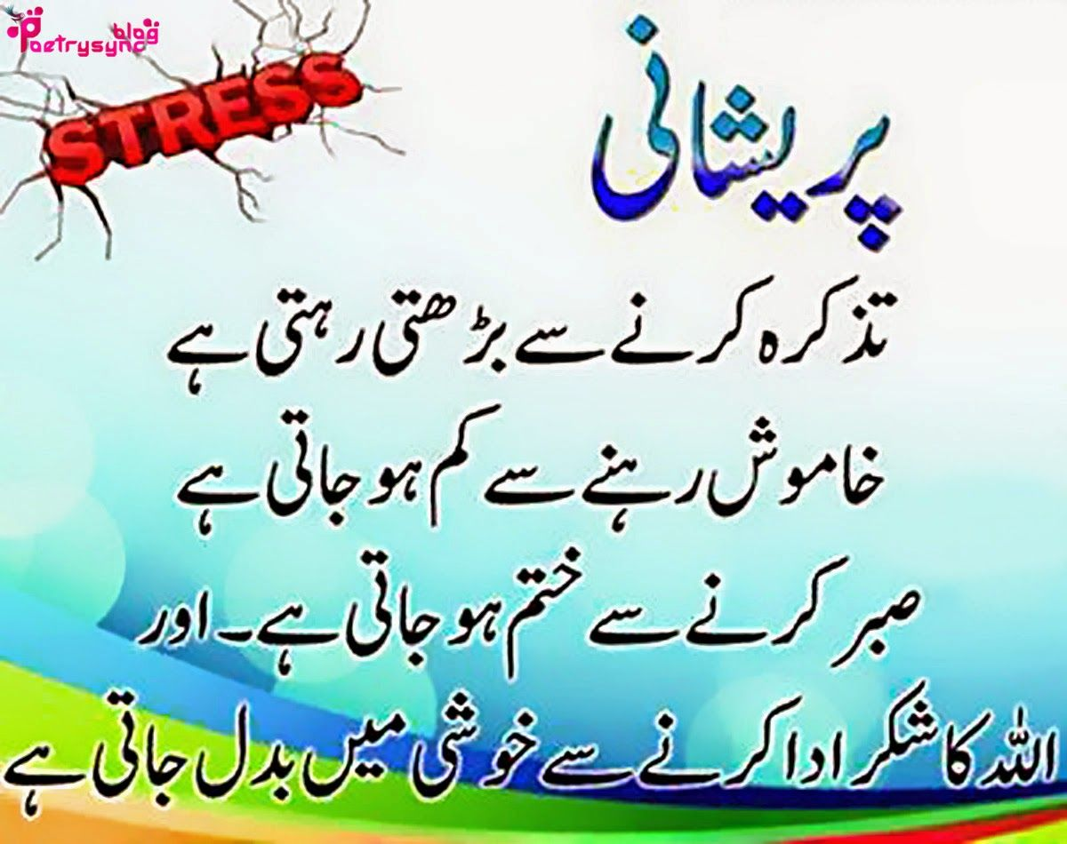 Poetry: Islamic Quotes, Hadees and Sayings SMS in Urdu ...
