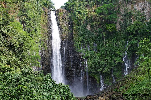 Maria Christina falls - one of majestic falls in the Philippines.