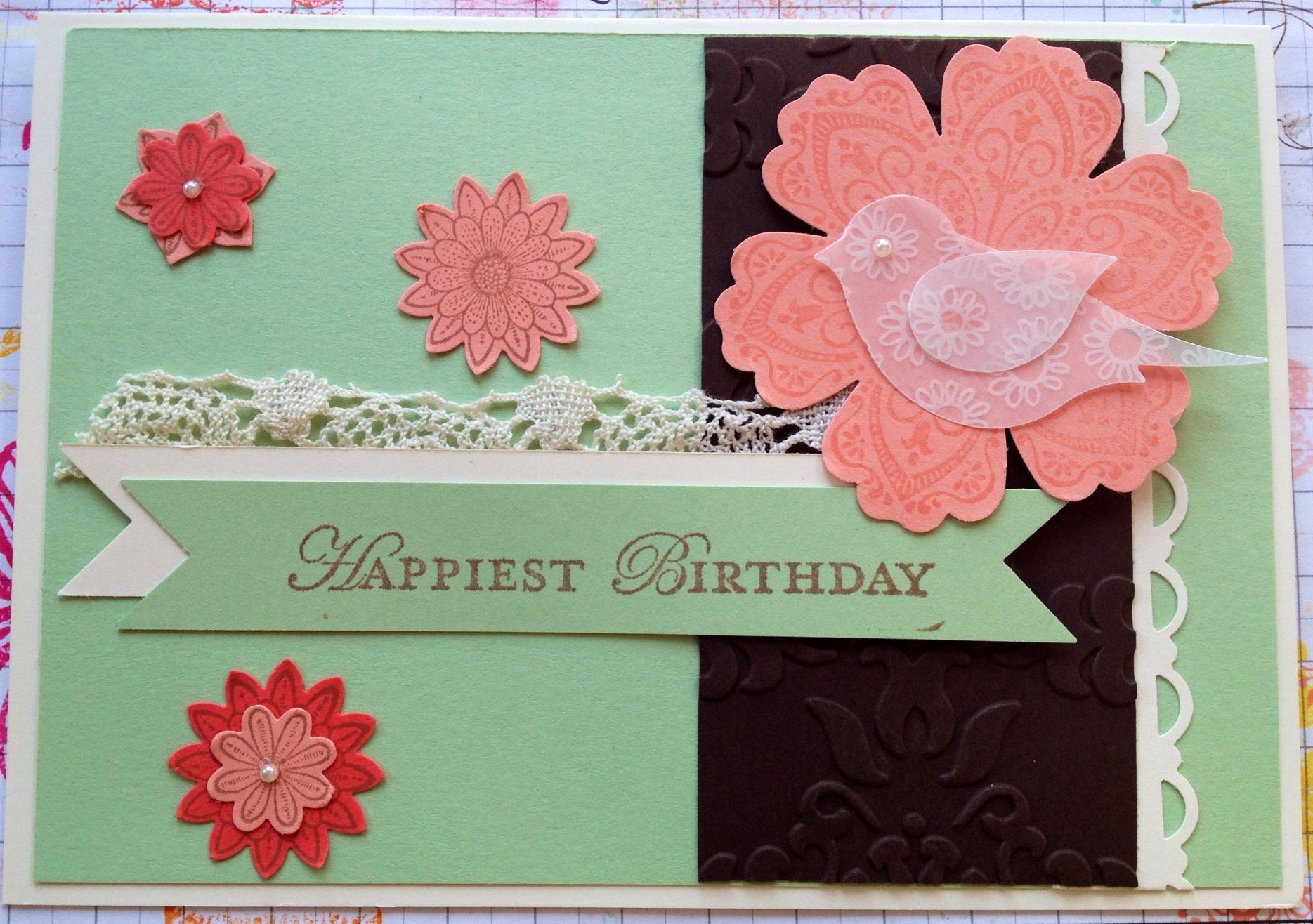 Love the Stampin' Up! New colours....