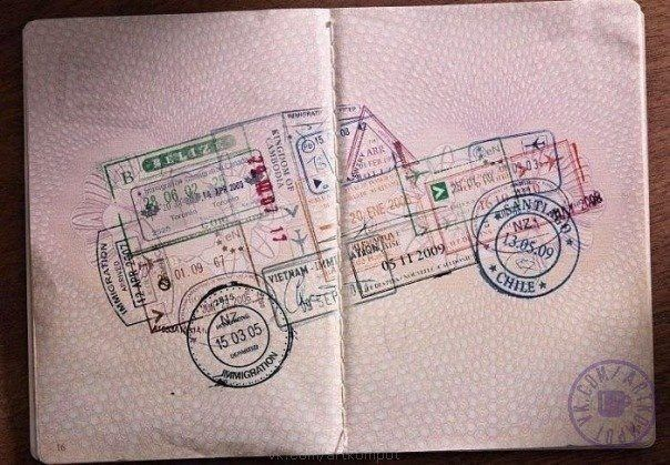 Snail mail is a lost art form Designspiration Pinterest - lost passport form