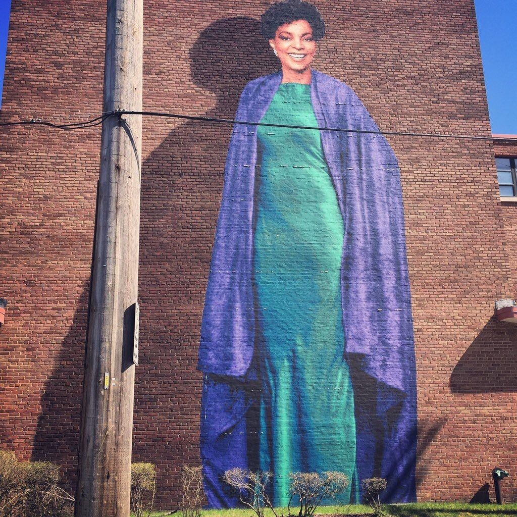 Ruby Dee Mural Karamu House Oldest African American