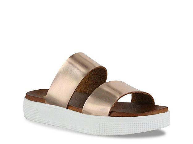 645b004ad4b9 Women Saige Platform Sandal -Rose Gold Metallic