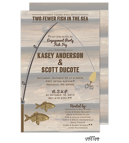 Fishing Party Invitations New Selections Winter 2016