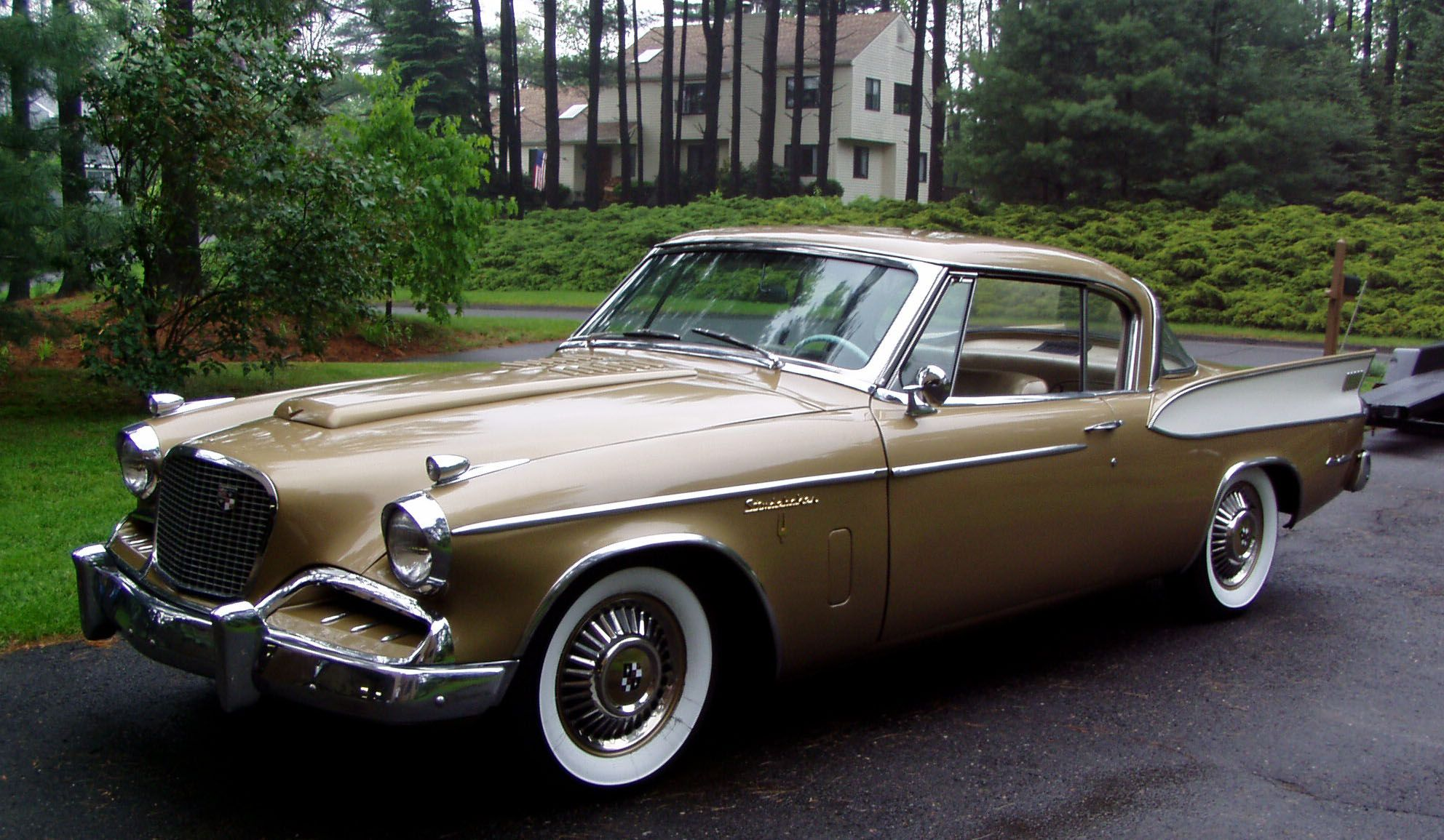 The 1957 golden hawk if anyone has one of these contact me i