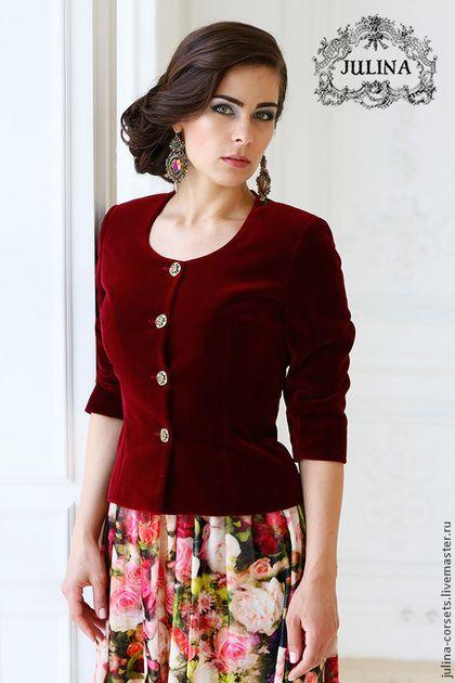 1f9ec76a608 Velvet jacket  Пиджаки
