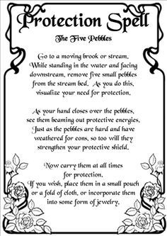 wiccan protection tattoos - Google Search | Tattoos | Witch spell