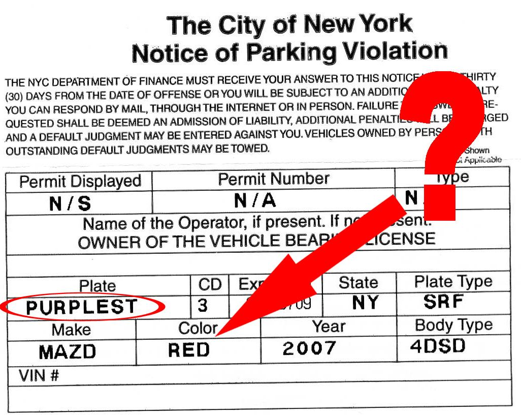printable parking tickets