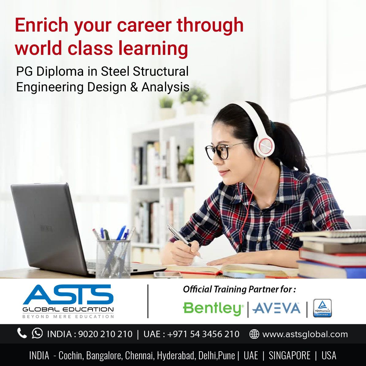 Get certified and enrich your career in Steel Structural