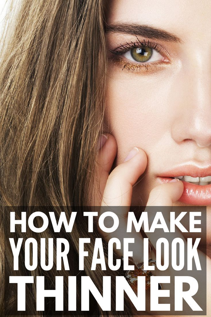 5 beauty tricks to make your face look thinner | Look ...