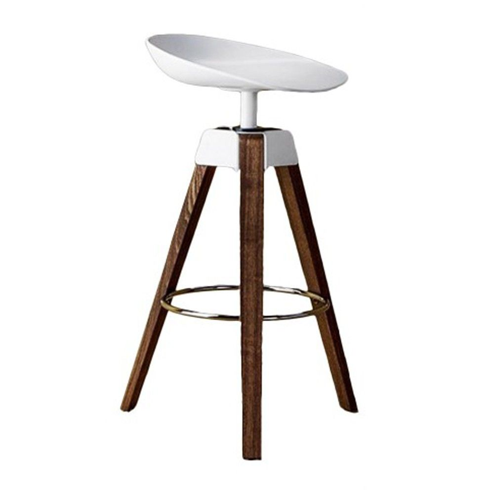Bonaldo Plumage Swivel Stool With Steel Frame On Trend Bar Stool From  Harrogate Interiors Good Looking