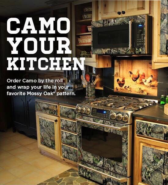 Camo Kitchen By Mossy Oak