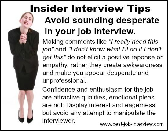 answer job interview questions