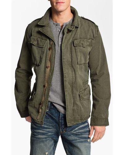c783e6ebc Scotch & Soda | Green Military Jacket for Men | Lyst | Boy clothes ...