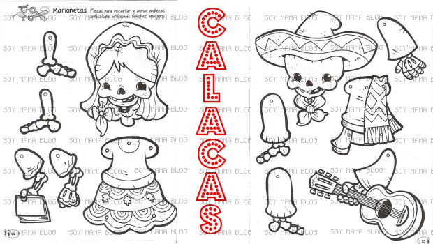 Imprimibles Dia De Muertos Soy Mama Blog Dia De Muertos Actividades Manuales Calacas Mexicanas