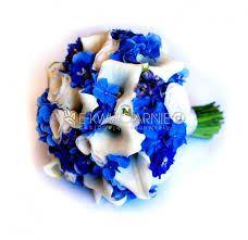 bukiet ślubny hortensja niebieska - Szukaj w Google