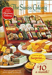 the swiss colony catalog as a child i always looked forward to getting this catalog in the mail because it was a sign that the christmas season had - Christmas Food Catalogs