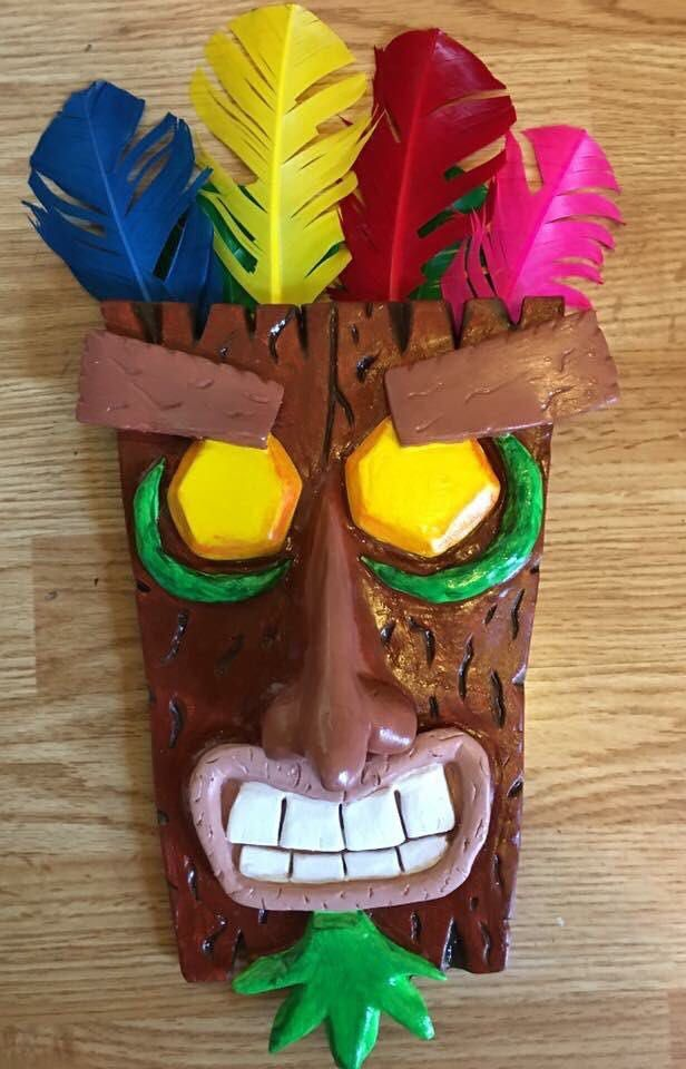 Aku Aku ceramic mask I made. For More Information... >>> http://bit.ly/29otcOB <<< ------- #gaming #games #gamer #videogames #videogame #anime #video #Funny #xbox #nintendo #TVGM #surprise #gamergirl #gamers #gamerguy #instagamer #girlgamer #bhombingamerica #pcgamer #gamerlife #gamergirls #xboxgamer #girlgamer #gtav