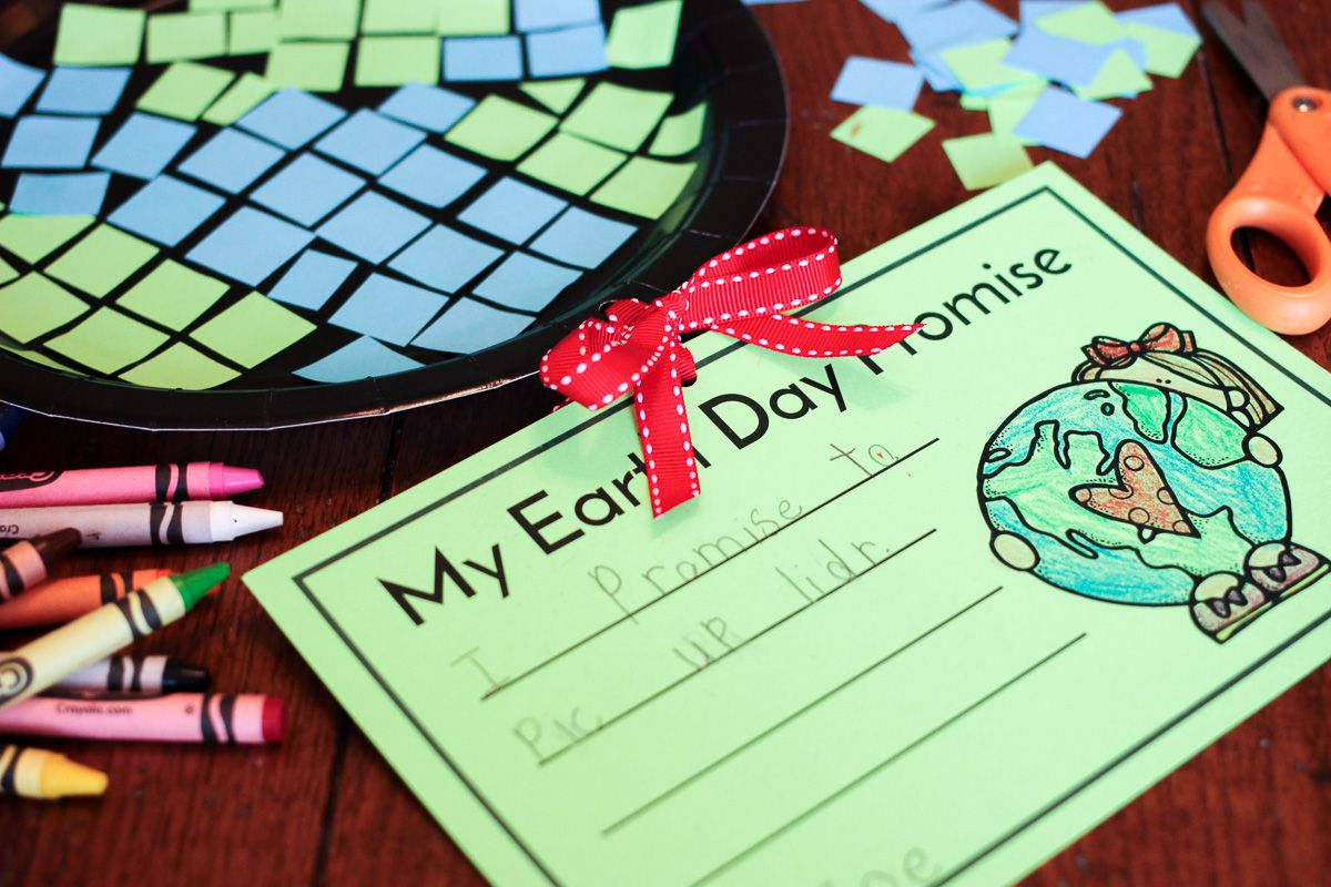Free Earth Day Craft and Writing Activity | Earth, Activities and ...