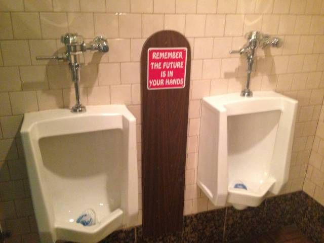 Bathroom Sign Next funny sign next to urinals | funny | pinterest | funny signs