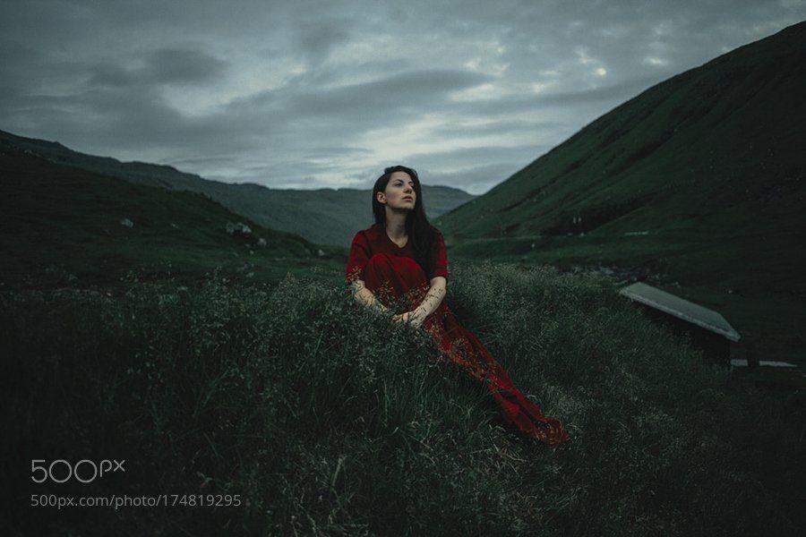 #photography Katja at the Faroe Islands by djo_mehran https://t.co/FBlNBNHEmp #followme #photography