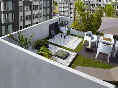 Terrasse zen : Idées et photos pour une terrasse sympa | Small ...
