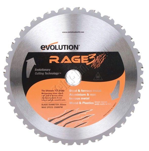 Rage255blade Evolution 10 Inch Circular Saw Blade Multi Purpose Circular Saw Blades Saw Blade Miter Saw