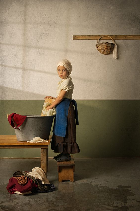 Photographer Bill Gekas Reimagines Classical Paintings Featuring His 6-Year Old Daughter