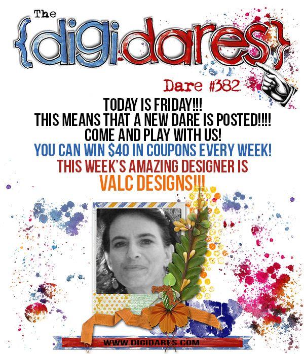 ♥ ♥ This week's DIGIDARES Sponsor - ValC Designs ♥ ♥ - Forum :: Oscraps.com