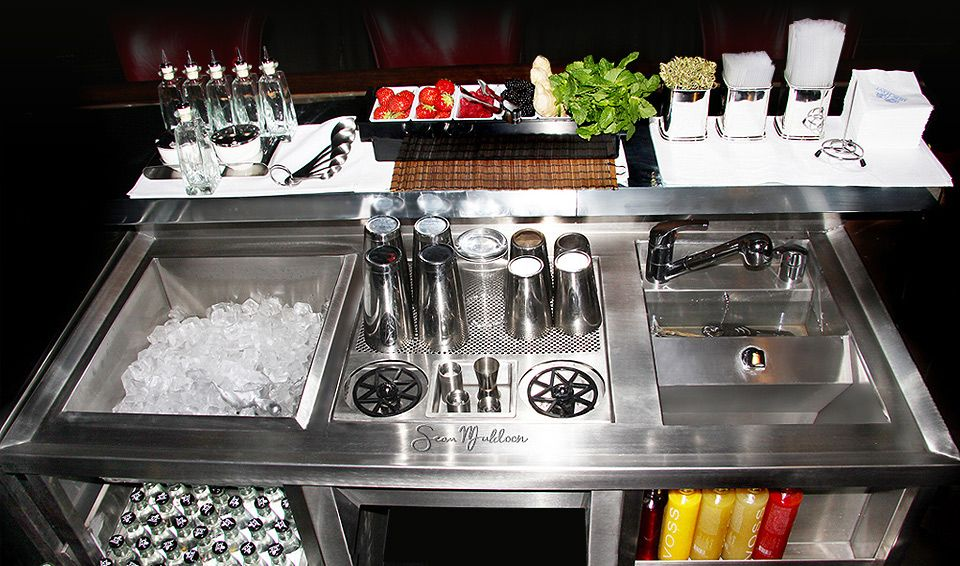 stainless steel bar restaurants kitchens pinterest