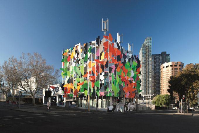 Pixel building - Carbon free. Melbourne, Australia.