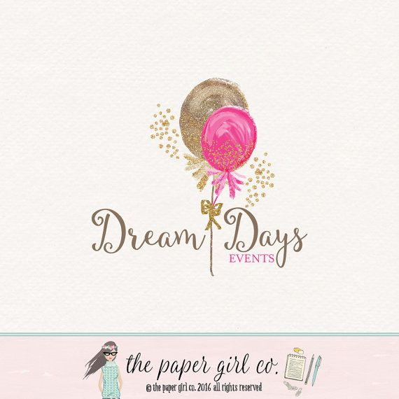 Premade Party Planner Logo Event Planner Logo by ...
