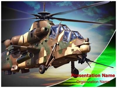 attack helicopter powerpoint template is one of the best, Modern powerpoint