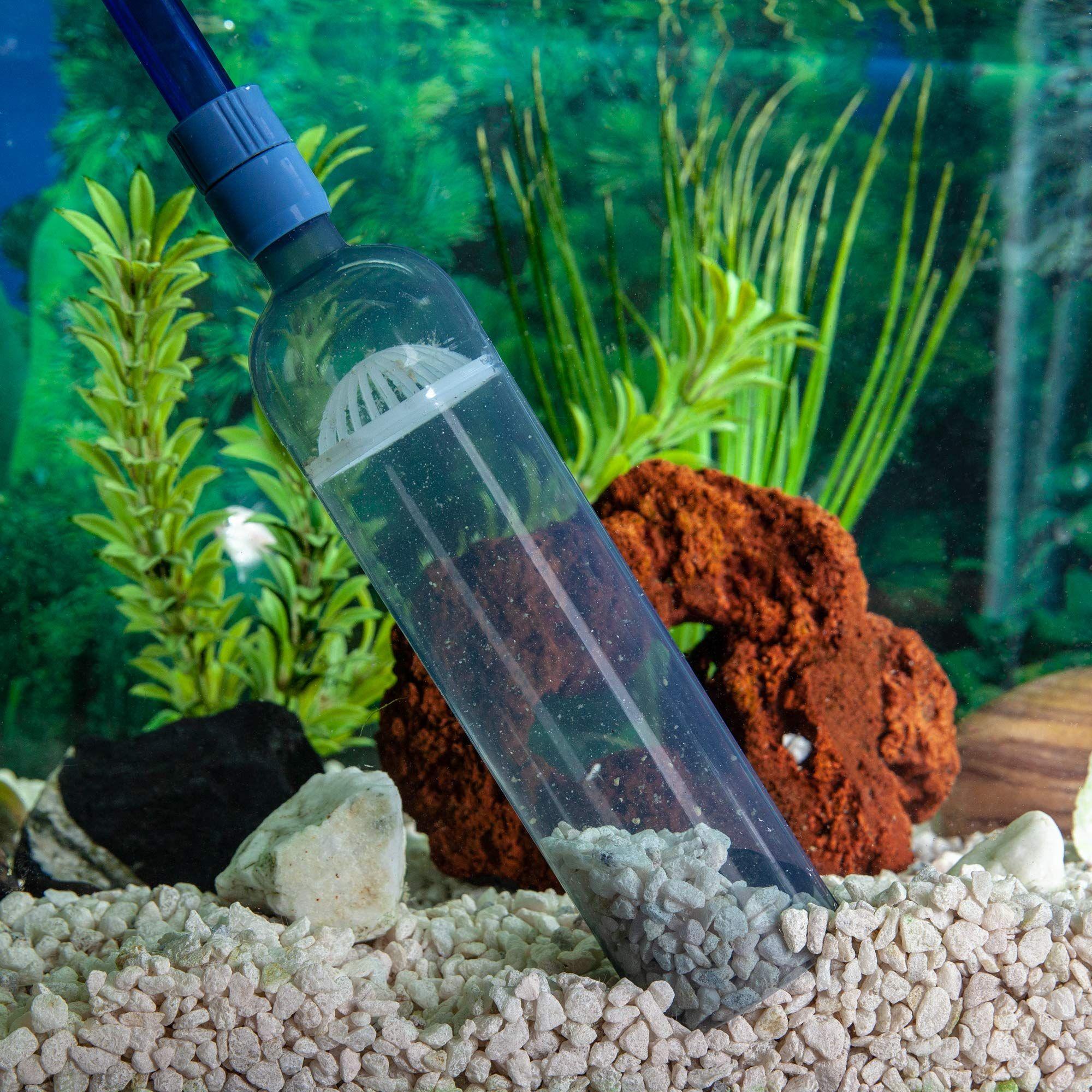 Gravel Vacuum For Aquarium Fish Tank Gravel Cleaner Aquarium