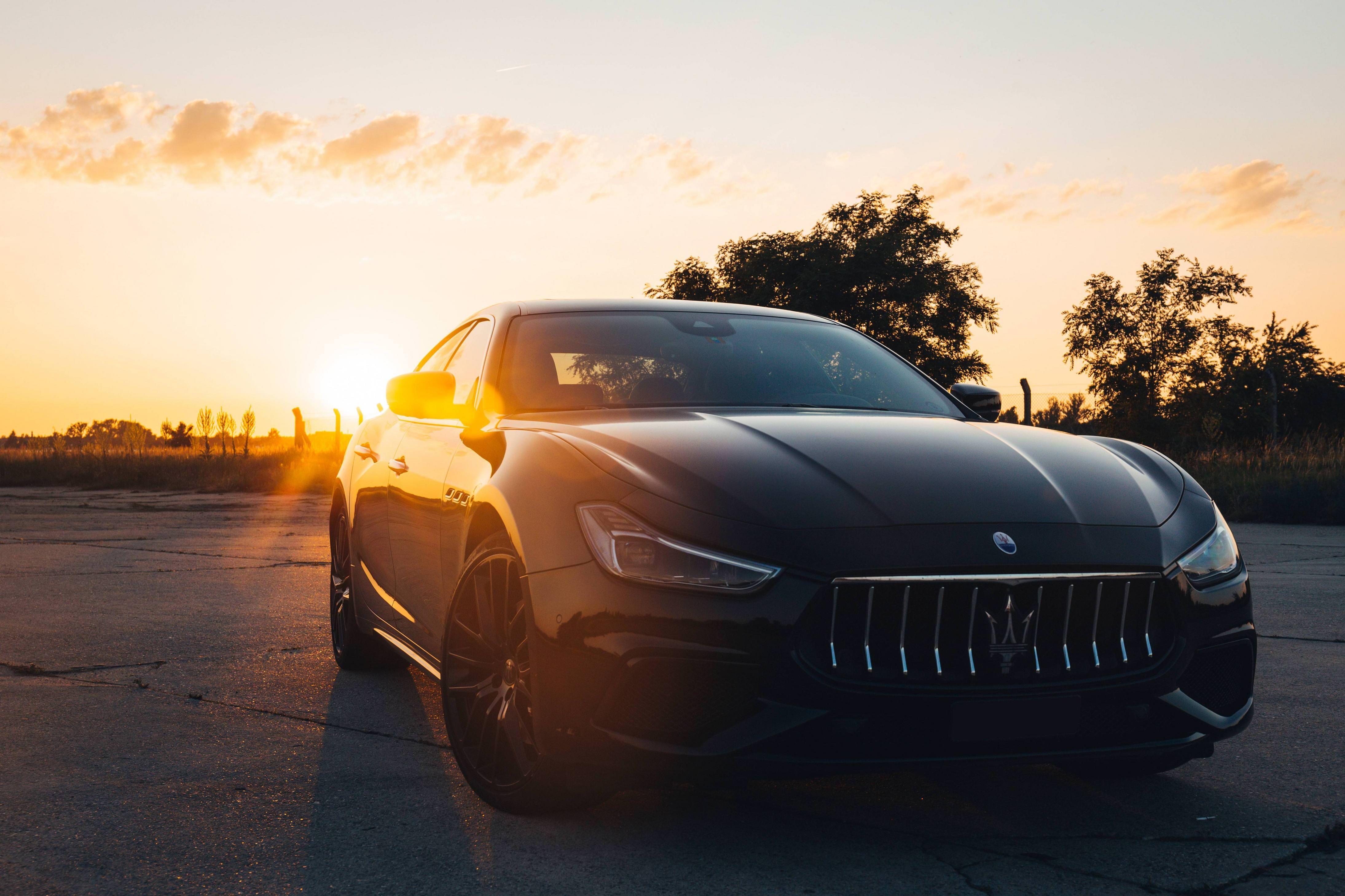 2018 Maserati Ghibli At Sunset 5472x3648 Maserati Ghibli Maserati Sports Cars Luxury