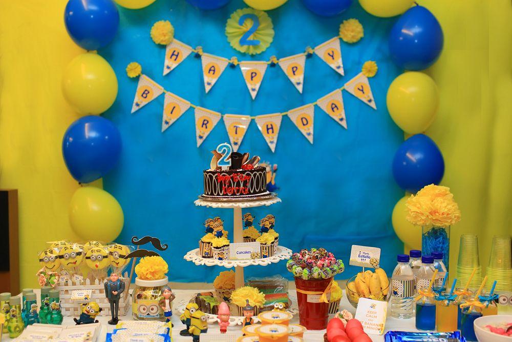 Pin On Minion Party Derrick S 2nd Birthday