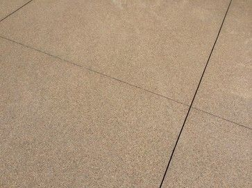 Sand Finish Concrete For Back Patio As An Option For
