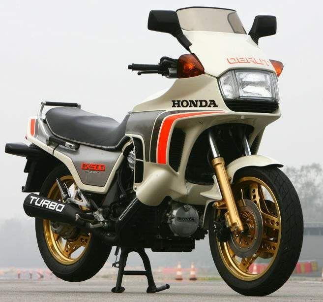 Turbo Bike Pic: The 1982 Honda CX500 Turbo. IMO, The Coolest Bike Ever