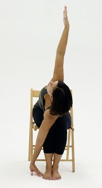10 yoga poses you can do in a chair  yoga poses yoga