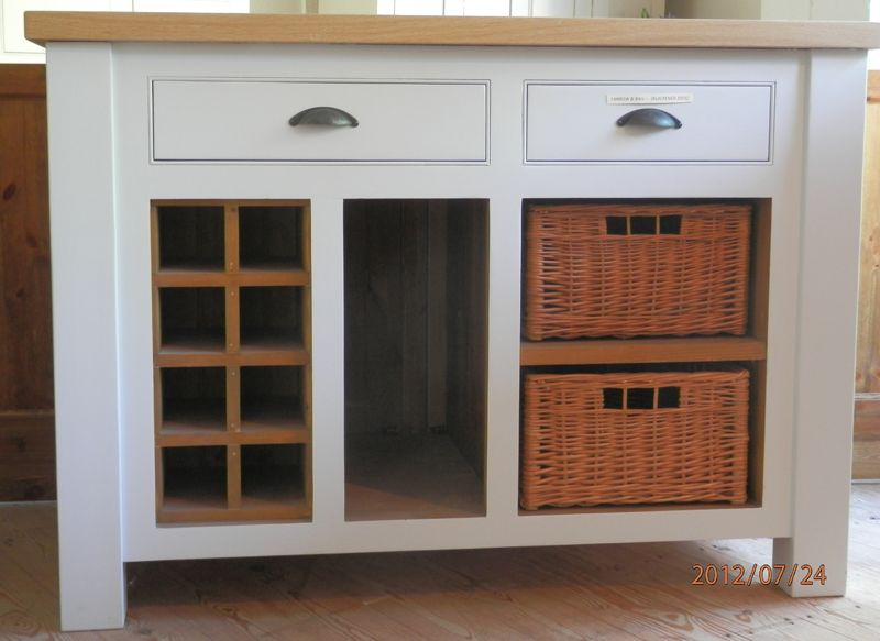 Handmade Solid Wood Base Units Freestanding Kitchen John