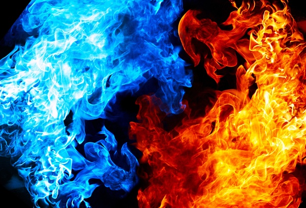 Blue And Red Flames Google Search Magic Background Blue Magic Blue Flames