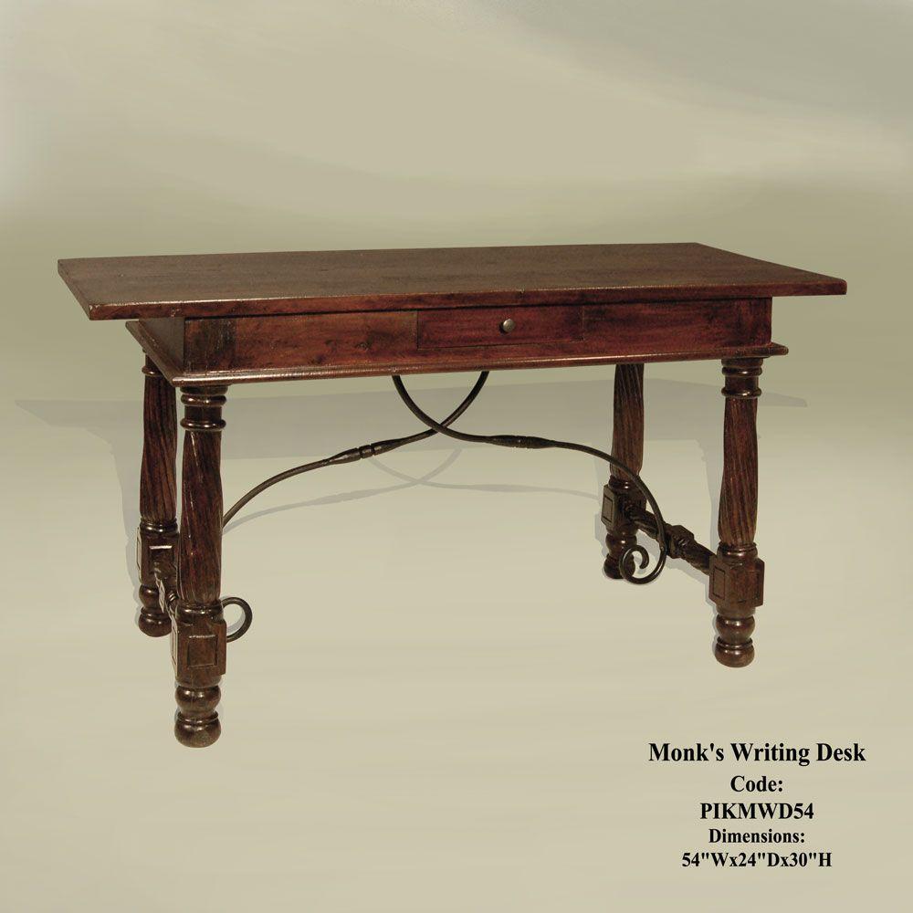 Terrific Monks Writing Desk 54X24X30 559 Home Decor Home Decor Interior Design Ideas Ghosoteloinfo